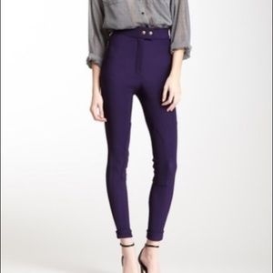 Riding Pant - Imperial Purple Medium (8-10)